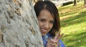 フィリピン系着物巨乳美少女ジェシーが書き初めオナニー。 -アジア天国オリジナル作品- ジェシー 5